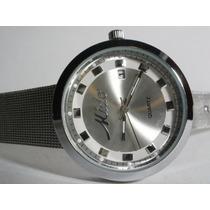 Precioso Reloj Mido , Fechador, Y Ademas Reloj Gratis !!