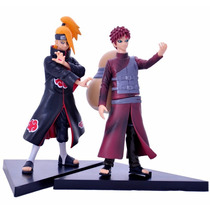 Bonecos Naruto Gaara Deidara Anime Enfeite Estatuas Brinqued
