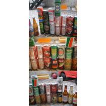 Gran Lote De Latas Y Botellas -para Coleccionistas De Verdad