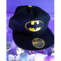 Gorra Batman Logo Clasico Tipo New Era Plana