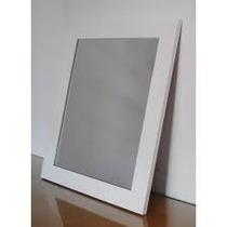 Espejo Con Marco Blanco / 60x80x6 Ideal Baño / Decoracion