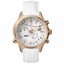 Reloj Mundial Timex Intelligent Quartz Tw2p87800 Time Square