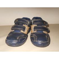 Zapatillas Plumitas Numero 27 Azules Y Beige Oportunidad