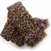 Black Friday! Até Janeiro - Pashmina Louis V Leopard