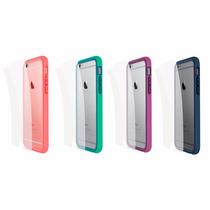 Carcasas Rhinoshield Bumper Y Mica Trasera Para Iphone 6/6s