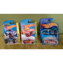 Lote 3 Pick Up, Hot Wheels