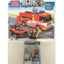 Lote Mega Bloks Blok Squad Fire Patrol Rescue Y Fire Rescue