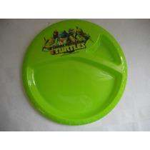 Plato Tortugas Ninja! Fiesta. Plastico Duro