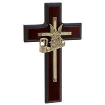 Cristo, Cruz, Crucifijo. Chapa De Oro $119.00