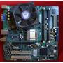 Motherboard Ecs-compaq 945gct-hm Sop Ddr2 + Cooler + Micro