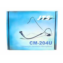 Microfone Headset Unidirecional Mini Xlr 4p Jts Cm-204u
