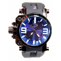 Relógio Oakley Gearbox Titaniun Várias Cores Lançamento Top