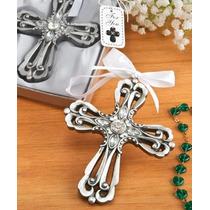 10 Cruz Decorativa Recuerdo Boda Despe Xv Baby Bautizo $45