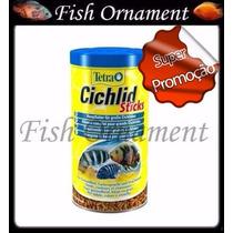 Ração Tetra Cichlid Sticks 75g Fish Ornament