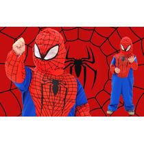 Disfraz Hombre Araña Con Musculos Nene
