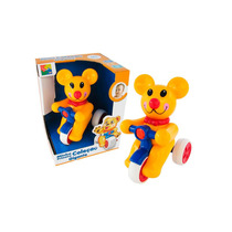 Brinquedo De Bebe Aperta E Anda Urso Gigante