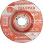Disco Telstar Desbaste/inox 4.1/2x7/8- A45 (pct Com 5 Disco)
