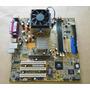 Placa Mãe Asus A7v8x-mx Se Com Processado Athlon(m) Xp 2000+