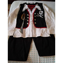 Pijama Epk Niño Talla 8 Pirata - Nueva¡