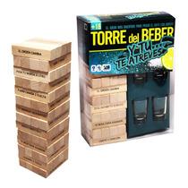 Jenga · Torre Del Beber Shots Tequila