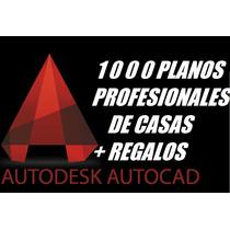 1000 Planos Autocad + Regalos Programas De Calculos Todos