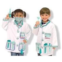 Disfraz De Doctor Para Niños Contiene Herramientas De Doctor