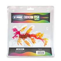 Adorno Pez Dragon Gde Fluorescente Para Acuario