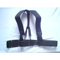 Fajilla Militar Con Tirantes, Cinturon, Comando, Policial