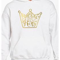 Paquete De Sudaderas Diseños Pareja You Are My King/queen