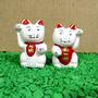 Par De Gatos Da Sorte - Gatinho Chinês -maneki Neko