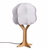 Lámpara Arbol Blanca Luz Multicolor Control Remoto Foco Led