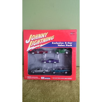 5 Pack Jhonnie Lightning, No Hot Wheels, Carroza