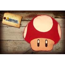 Cojin Cabeza Hongo Mario Bros