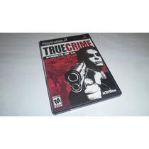 Ps2 True Crime Streets Of L.a Black Label Original Completo