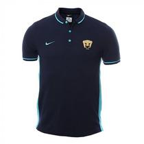 Nike Pumas Unam Universidad Playera Azul Tipo Polo Original
