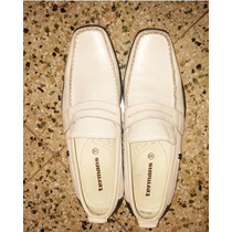 Zapatos Blanco Caballero Termans
