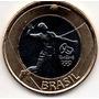 Moeda Olimpíada Volei Para Álbum Jogos Rio 2016