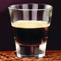 Vaso De Cafe Expresso Libbey Templado Apilable 110ml X 6 Un