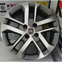 Jogo De Rodas Fiat Toro Aro 14 R73 Uno Siena Palio Strada