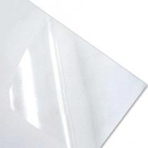 Adesivo Vinil Transparente A4 P/ Impressora Laser 10 Folhas