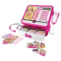 Caixa Registradora Luxo Com Acessórios Barbie Rosa