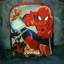 Bolso Morral Escolar Spiderman Y Batman De Niños