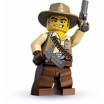 Lego Minifigures Series 1 Cowboy 8683 Original