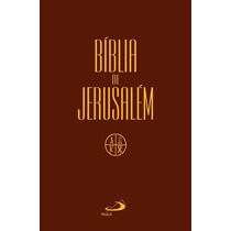 Bíblia De Jerusalém Editora Paulus Capa Cristal Sagrada