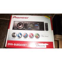 Dvd Player Pioneer Dvh-8480avbt Com Tela Lcd 3,5 - Novo