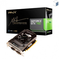 Placa De Vídeo Pny Geforce Gtx 750 1gb Vcggtx7501xpb-port