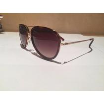 Oculos Armacao Solar Ana Hickman 3124 G21 Ah Oncinha Aviador