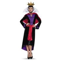 Disfraz Mujer Reina Malvada Blanca Nieves Adulto Halloween