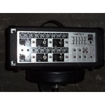 Consola Potenciada Luxell Lxm-6200 200 Watts 6 Canales
