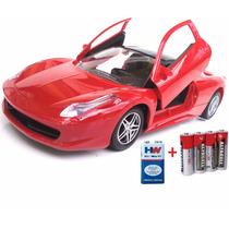 Ferrari 1:16 Carro Carrinho Controle Remoto 5x Comandos